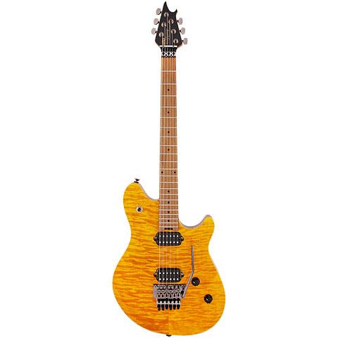 EVH Wolfgang Standard QM Trans Amber « Guitarra eléctrica