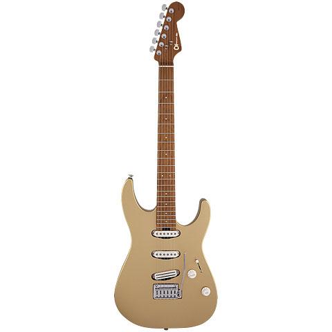 Guitarra eléctrica Charvel DK 22 SSS 2PT Pharaos Gold