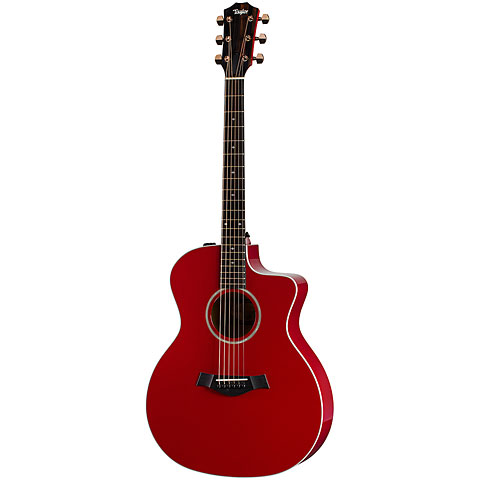 Guitare acoustique Taylor 214ce-RED DLX (2020)