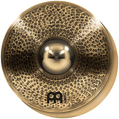 "Meinl Pure Alloy Custom 15"" Medium Thin HiHat « Cymbale Hi-Hat"
