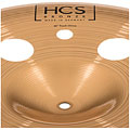 "China-Becken Meinl HCS Bronze 16"" Trash China"