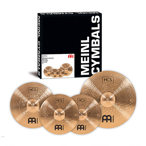 Sets de platos Meinl HCS Bronze Complete Cymbal Set-up (14HH/16CR/20R)