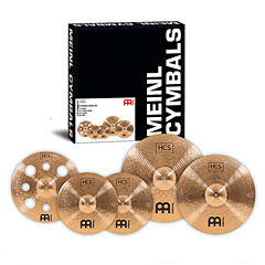 Meinl HCS Bronze Expanded Cymbal Set-up (14/16/18/20) « Bekken set