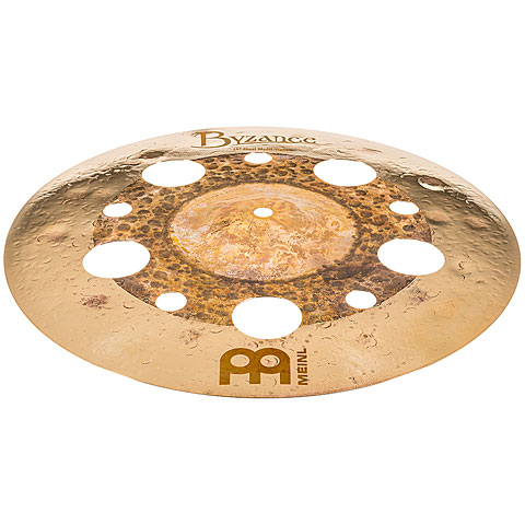 "Cymbales d'effet Meinl Byzance Dual 14"" Multi Trash"