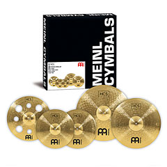Meinl HCS Expanded Cymbal Set-up (14/16/18/20) « Sets de platos