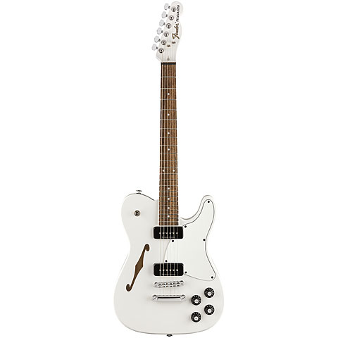 Fender Jim Atkins JA-90 Telecaster Thinline WHT « Guitare électrique