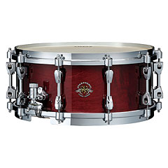 "Tama Starphonic 14"" x 6"" Gloss Cherry Red Concert Snare « Caisse claire"