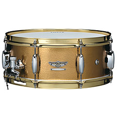 "Tama Star Reserve 14"" x 5,5"" Hand Hammered Brass Snare « Caisse claire"