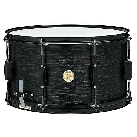 "Snare Drum Tama Woodworks WP148BK-BOW 14"" x 8"" Black Oak Wrap Snare Drum"