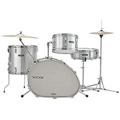 VOX Telstar Oval 18'' Silver Kroko Drumset « Batería