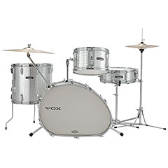 "VOX Telstar Oval 18"" Silver Kroko Drumset"
