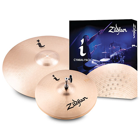 Pack de cymbales Zildjian i Family Essentials Cymbal Pack