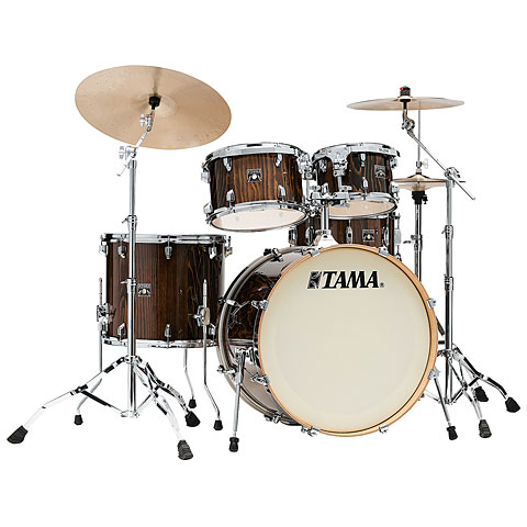 Batterie acoustique Tama Superstar Classic Exotix 5pc. Gloss Java Lacebark Pine