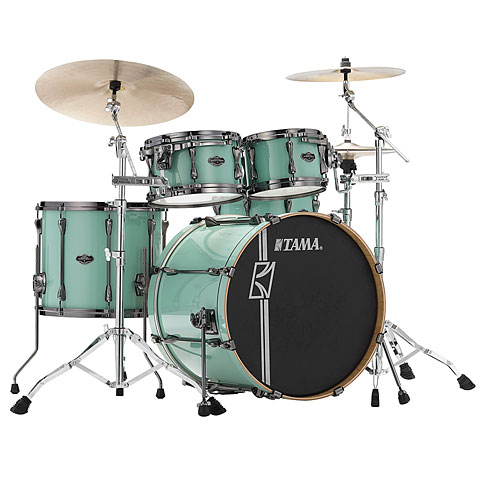 "Batería Tama Superstar Custom Hyper Drive 22"" Seafoam Green 4 Pcs. Shell Set"