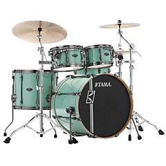 "Tama Superstar Custom Hyper Drive 22"" Seafoam Green 4 Pcs. Shell Set « Batería"