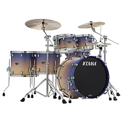 "Tama Starclassic Walnut/Birch 5 Pcs. Satin Purple Atmosphere Fade 22"" Shell Set « Schlagzeug"
