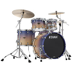 "Tama Starclassic Walnut/Birch 4 Pcs. Satin Purple Atmosphere Fade 22"" Shell Set « Schlagzeug"