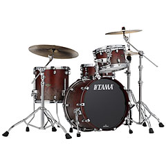 "Tama Starclassic Walnut/Birch 3 Pcs. Satin Burgundy Fade 20"" Shell Set « Batería"