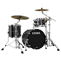 "Tama Starclassic Walnut/Birch 3 Pcs. Piano Black 20"" Shell Set « Schlagzeug"