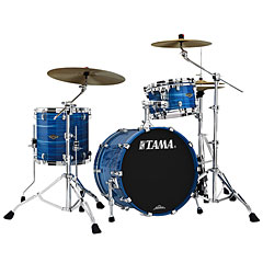 "Tama Starclassic Walnut/Birch 3 Pcs. Lacquer Ocean Blue Ripple 20"" Shell Set « Batería"