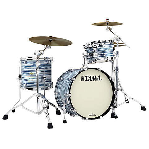"""Batería Tama Starclassic Maple 20"""" Blue & White Oyster Shell Set"""