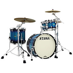 "Tama Starclassic Maple 20"" Molten Electric Blue Burst Shell Set « Batterie acoustique"