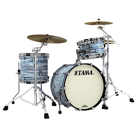 """Batería Tama Starclassic Maple 20"""" Blue & White Oyster"""