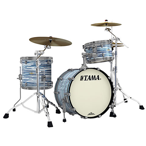"""Batería Tama Starclassic Maple 20"""" Blue & White Oyster Smoked BN Hardware"""