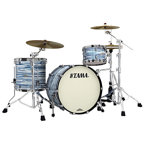 "Batería Tama Starclassic Maple 3 Pcs. Blue & White Oyster 22"" Shell Set"
