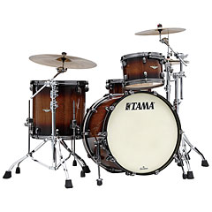 "Tama Starclassic Maple 3 Pcs. 22"" Tobacco Sunburst Movingui Shell Set « Batería"