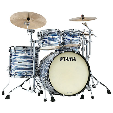 "Batería Tama Starclassic Maple 22"" Blue & White Oyster 4 Pcs. Shell Set"