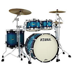 "Tama Starclassic Maple 22"" 4 Pcs. Molten Electric Blue Burst Shell Set « Batterie acoustique"