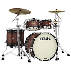 "Tama Starclassic Maple 22"" 4 Pcs. Tobacco Sunburst Movingui Shell Set « Batterie acoustique"