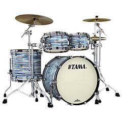 "Tama Starclassic Maple 22"" 4 Pcs. Blue & White Oyster Shell Set « Batterie acoustique"