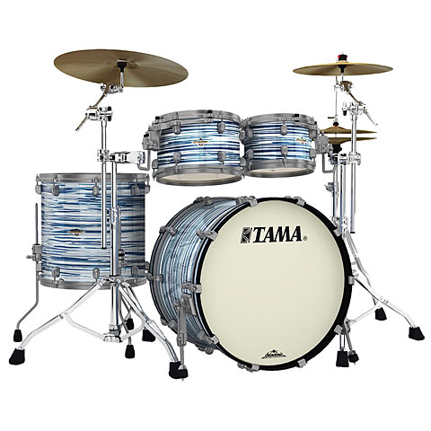 """Batería Tama Starclassic Maple 22"""" Blue & White Oyster"""