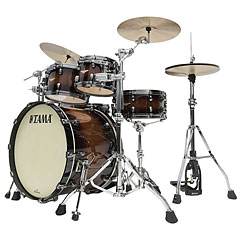 "Tama Starclassic Maple 22"" Tobacco Sunburst Movingui 4 Pcs. Shell Set « Batería"