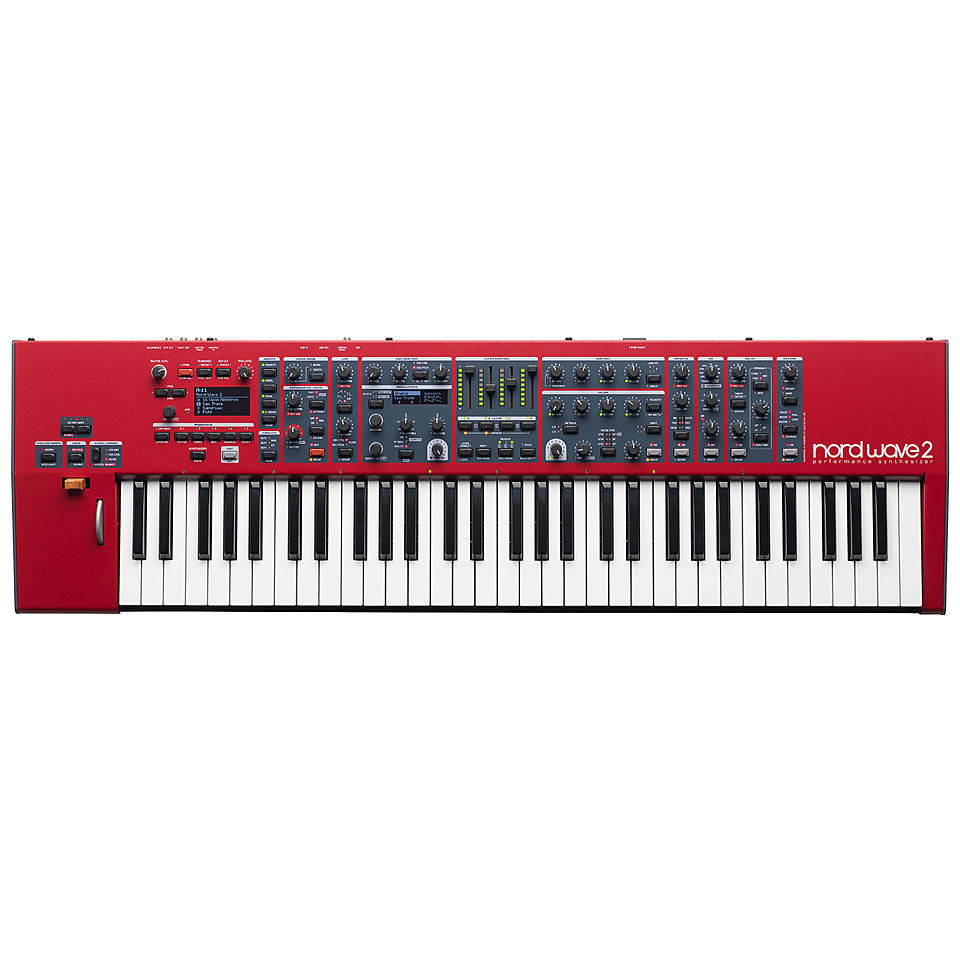 Synthesizer - Clavia Nord Wave 2 Synthesizer - Onlineshop Musik Produktiv