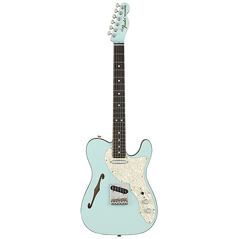 Fender FSR Two Tone Telecaster Thinline DPB « Guitare électrique