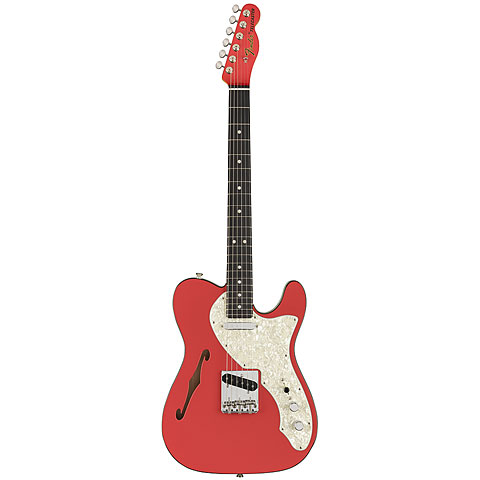 Fender FSR Two Tone Telecaster Thinline FRD « Guitare électrique