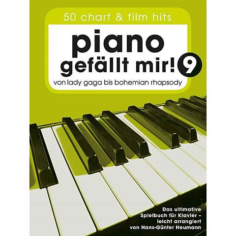Bladmuziek Bosworth Piano gefällt mir! 9 (Spiralbindung)