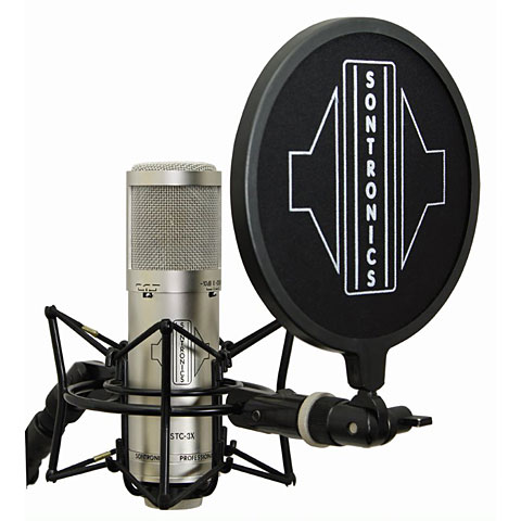 Microphone Sontronics STC-3X Pack silver
