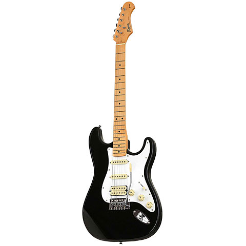 Kozmos 50s S-Style HSS MN BLK « Electric Guitar