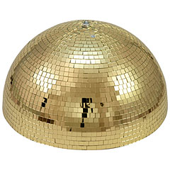 Eurolite Half Mirror Ball 50 cm gold motorized « Spiegelbal