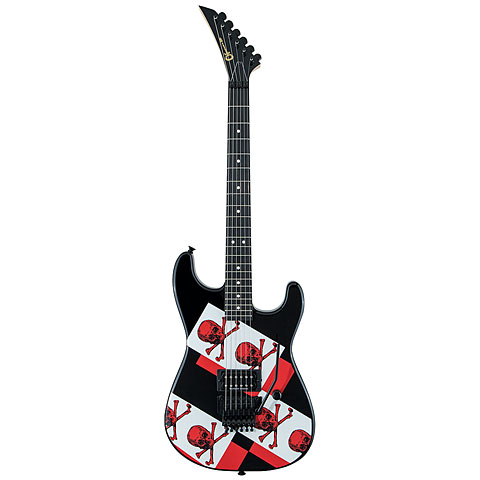 Charvel Super Stock Model 2 Skull'n Bones limited Edition « E-Gitarre