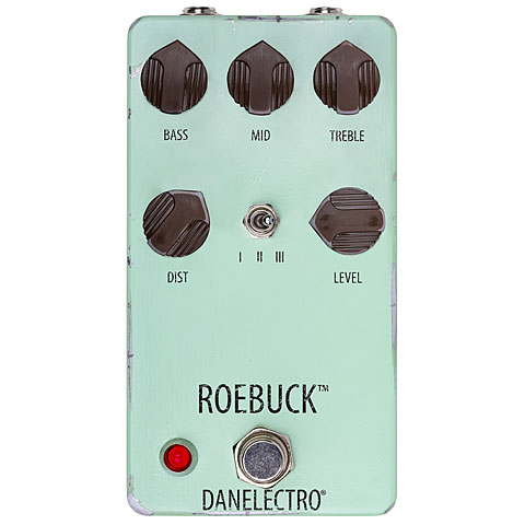 Pedal guitarra eléctrica Danelectro Roebuck Distortion