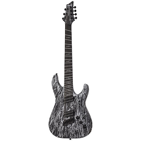 Schecter Silver Mountain C-7 Multiscale « Electric Guitar