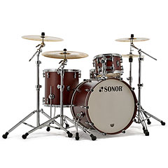 "Sonor ProLite 22"" Nussbaum 3 Pcs. Shell Set With Mount « Batería"