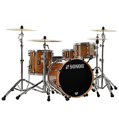 "Sonor ProLite 20"" Chocolate Burl 3 Pcs. Shell Set « Schlagzeug"