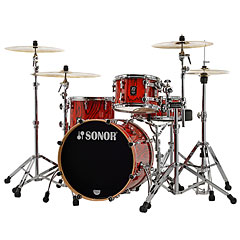 "Sonor ProLite 20"" Fiery Red 3 Pcs. Shell Set « Schlagzeug"