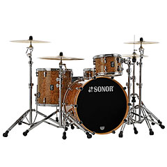 "Sonor ProLite 22"" Chocolate Burl 3 Pcs. Shell Set « Schlagzeug"